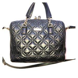 Kate ♠️ Spade Quilted Black Handbag